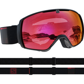 Salomon XT One Sigma Goggles black/red/poppy red